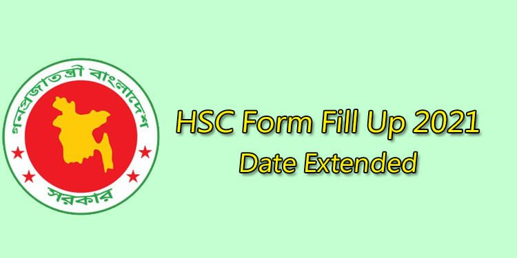 HSC Form Fill Up 2021 Extended