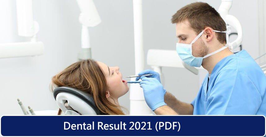 Dental Result 2021