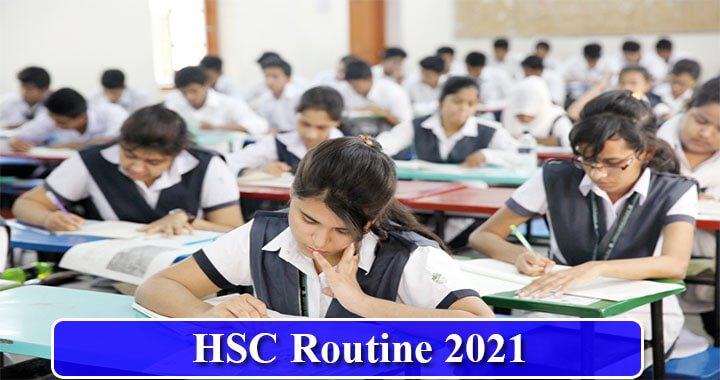 HSC Routine 2021