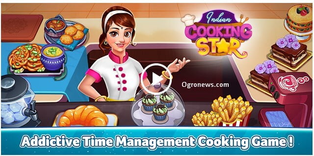Indian Cooking Star Fast Restaurant Cooking Games Apk