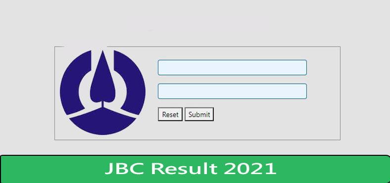 JBC Result 2021