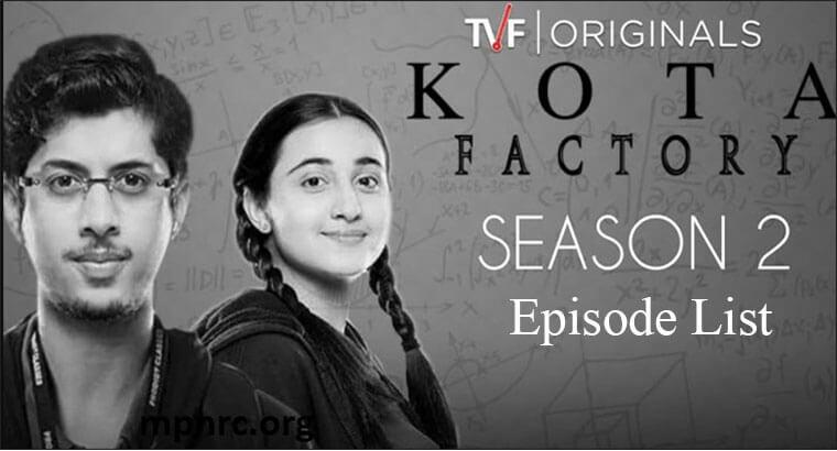 Kota Factory Season 2 Episode List