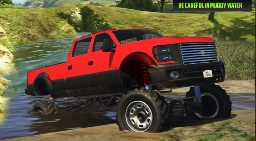 Monster Truck Racing Simulation Apk
