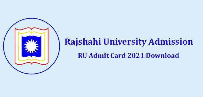 RU Admit Card 2021