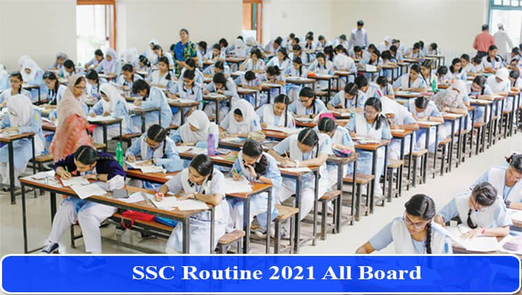 SSC Routine 2021 PDF Published