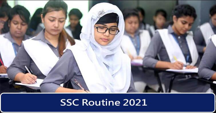 SSC Routine 2021