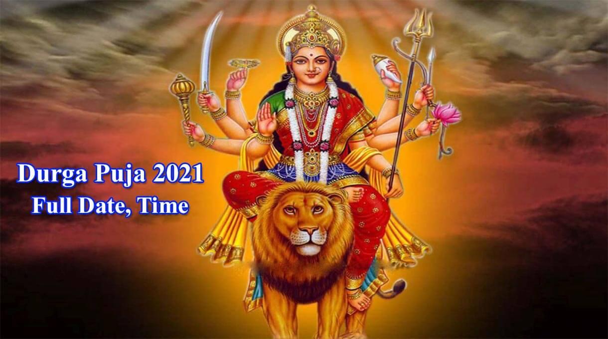 Durga Puja 2021 Date